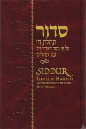 Siddur Tehillas Hashem Hebrew - Annotated (Hardcover)