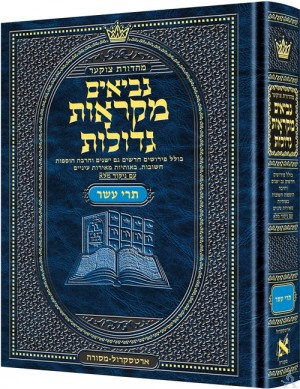 Czuker Edition Mikra'os Gedolos Nevi'im Trei Asar (Twelve Prophets)