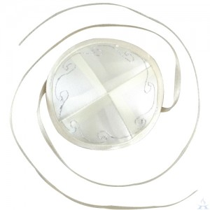 Kippah Baby Off-White - Satin