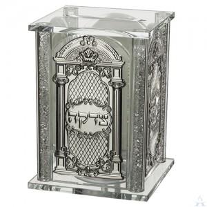 Tzedakah Box Crystal