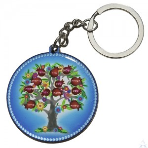 Key Chain Epoxy Blessing Tree