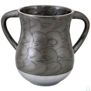 Wash Cup Aluminum Grey