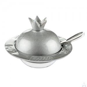 Honey Dish Aluminum Grey