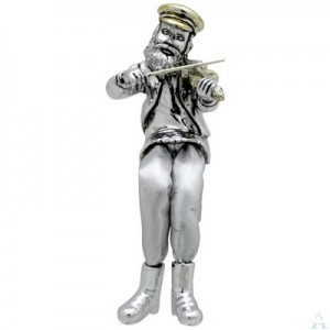 Fiddler Figurine with Cloth Legs