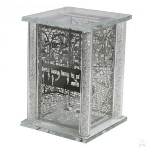 Tzedakah Box Crystal Elegant