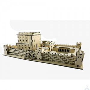 Bet Hamikdash 3D Wood Puzzle