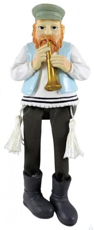 Figurine Porcelain Trumpet