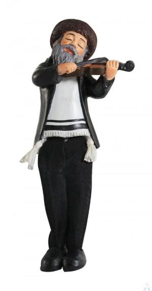 Figurine Chasidic Violinist