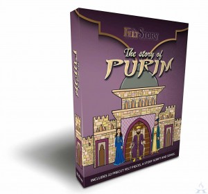 My Felt Story - Purim 22 Pieces