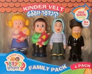 Kinder Velt  Family - 4 Pack