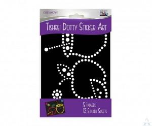 Tishrei Dotty Sticker Art