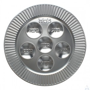 Disposable Foil Seder Plate