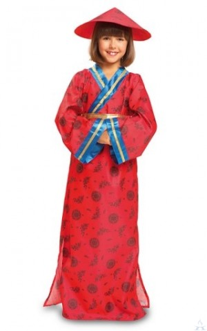 Chinese Girl Costume - Small (4-6)