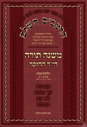 HaRambam Hashaleim Volume 1