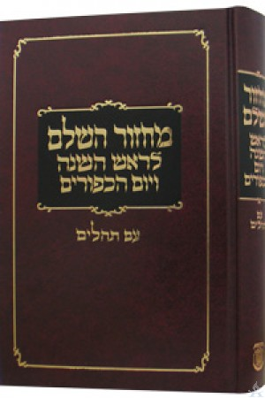 Machzor Hasholeim Medium