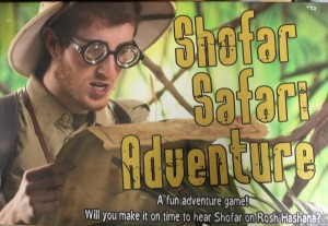 Shofar Safari Adventure Board Game
