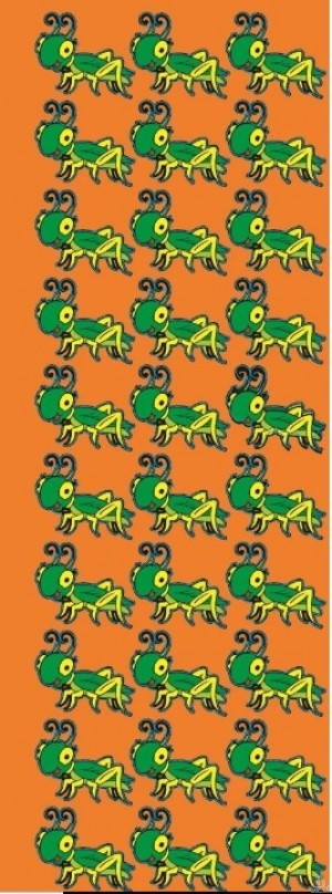 Grasshoppers Stickers