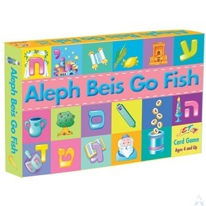 Aleph Beis Go FIsh Game