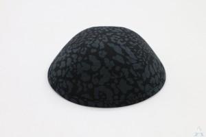Kippah Black Cheetah