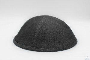 Kippah Black Denim