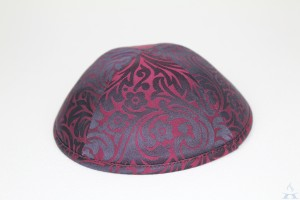 Kippah Burgundy Royale