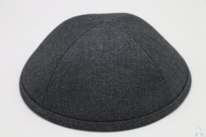Kippah Charcoal Suiting