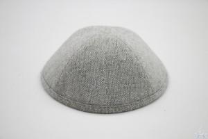 Kippah Grey Glitter