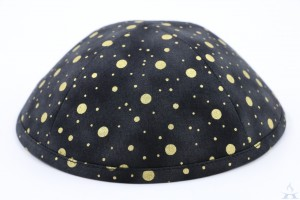 Kippah Gold Dot
