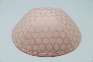 Kippah Honeycomb Blush
