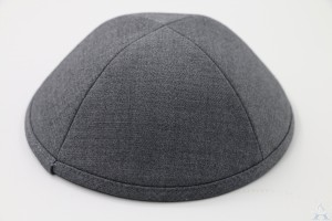 Kippah Light Grey Suiting