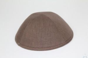 Kippah Cocoa Linen