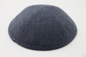 Kippah Navy Heather