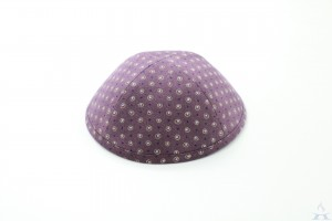 Kippah Purple Dust