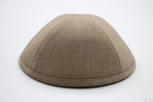 Kippah Taupe Suiting