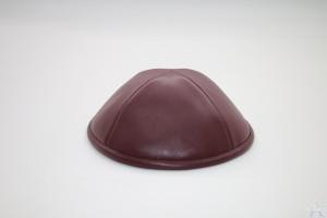Kippah Wine Leather