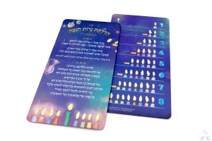 Visual Chanukah Card