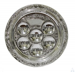 Seder Plate - Silverplated