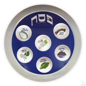 Seder Plate Melamine 14 Inch