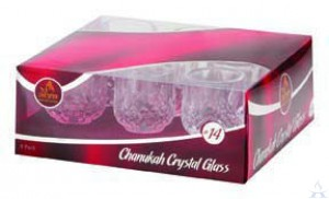 Crystal Oil Glass #14, 9 Pack