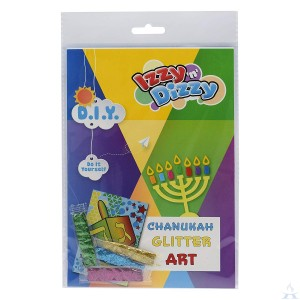 Chanukah Glitter Art