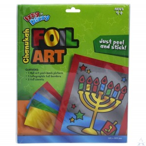 Chanukah Foil Art Kit