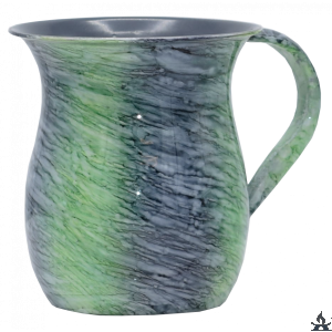 Wash Cup Blue Green