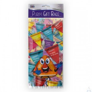 Purim Characters Treat Bag
