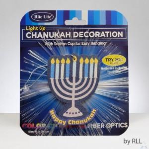 Chanukah Fiber Optic Light Up Decoration