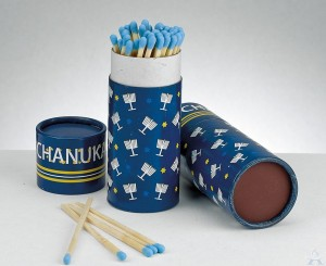 Chanukah Long Matches in Gift Box