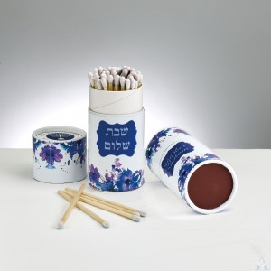 Shabbat Matches Purple/Blue
