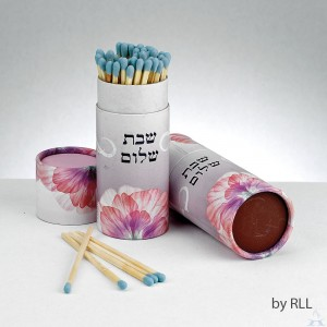 Shabbat Matches 60 ct. Pink