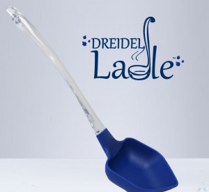 Chanukah Dreidel Ladel