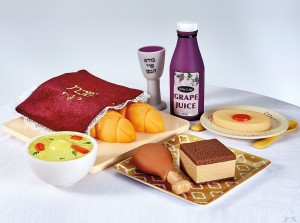 My First Shabbat Food Set, Gift Boxed
