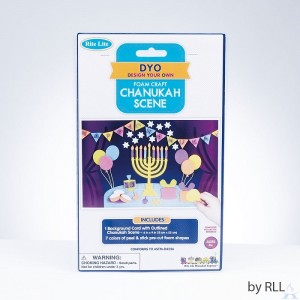 Chanukah Foam Scene Craft